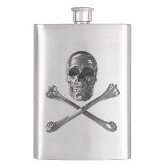 Jolly Roger Skull Classic Flask