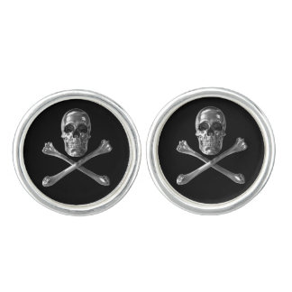 Jolly Roger Skull Cufflinks