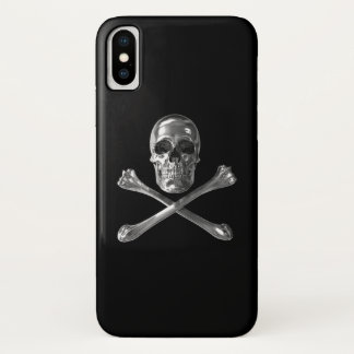 Jolly Roger Skull iPhone X Case