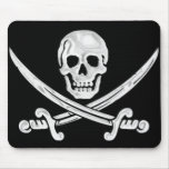 Jolly Roger Skull Mousepad