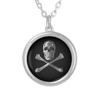 Jolly Roger Skull Necklace