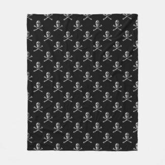 Jolly Roger Skull Pattern Fleece Blanket
