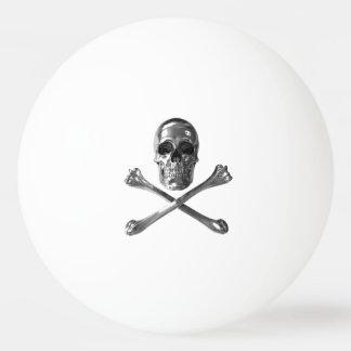 Jolly Roger Skull Ping Pong Ball