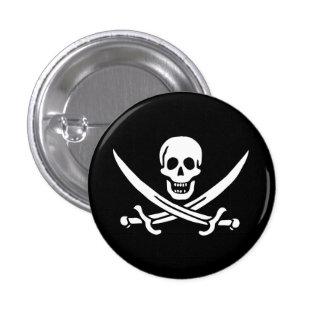Jolly Roger Swords Buttons