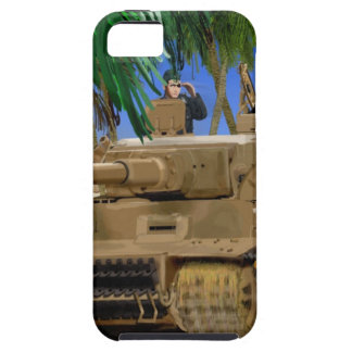 JOLLY ROGER TIGER TANK. iPhone 5 COVER