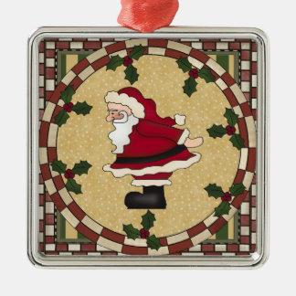 Jolly Santa Claus Christmas Ornament