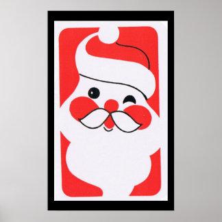 Jolly Santa Claus Poster