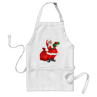 Jolly Santa Claus Standard Apron