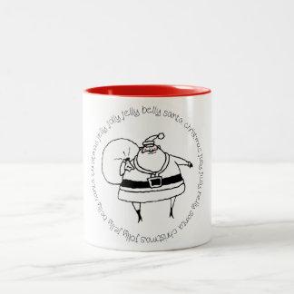 Jolly Santa Mug