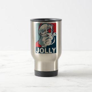 Jolly Santa Travel Mug