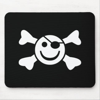 Jolly Smiley Mouse Mat
