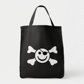Jolly Smiley Tote Bag