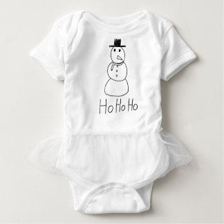 Jolly Snowman Baby Bodysuit
