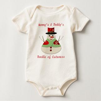 Jolly Snowman Bundle of Cuteness Baby Bodysuit