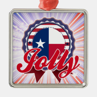 Jolly, TX Christmas Ornament