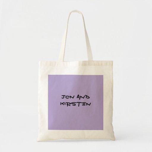 Jon And Kirsten Bags