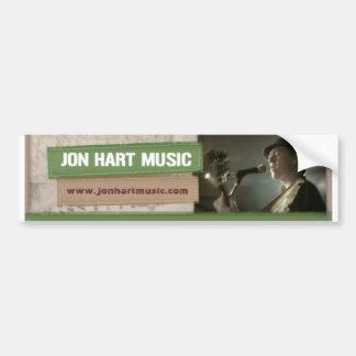Jon Hart Music banner sticker Bumper Sticker