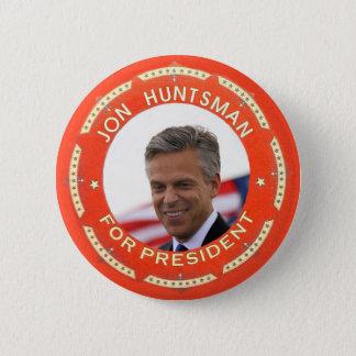 Jon Huntsman 2012 6 Cm Round Badge