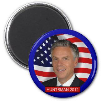 Jon Huntsman 2012 6 Cm Round Magnet