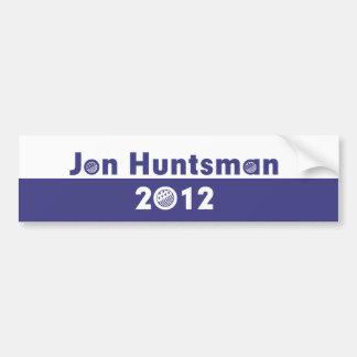 Jon Huntsman 2012 Election Car Bumper Sticker