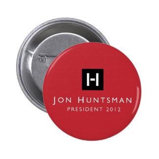Jon Huntsman 2012 President 6 Cm Round Badge