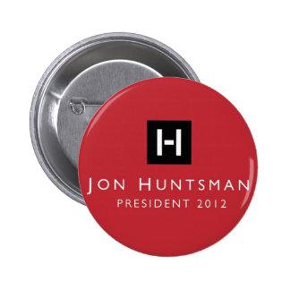 Jon Huntsman 2012 President Pinback Buttons