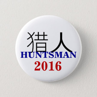 Jon Huntsman 2016 Chinese 6 Cm Round Badge