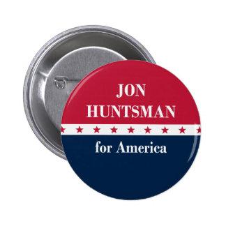 Jon Huntsman for America Button
