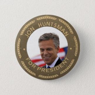 Jon Huntsman for President 6 Cm Round Badge