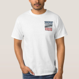 Jon Huntsman in 2012 (front and back) Tee Shirts