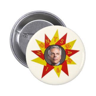 Jon Huntsman in 2016 for President 6 Cm Round Badge
