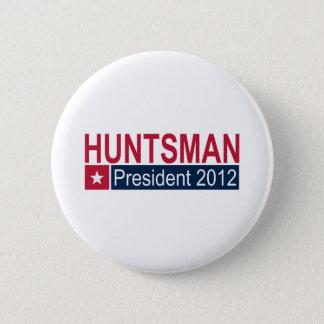 Jon Huntsman President 2012 6 Cm Round Badge