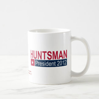 Jon Huntsman President 2012 Basic White Mug