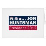 Jon Huntsman President 2012 Republican Elephant Cards