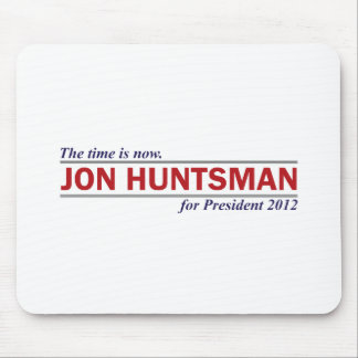 Jon Huntsman The Time is Now President 2012 Mouse Pads