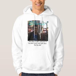 """jon, Jon Speed Appreciation Network, """"Jon does ... Hooded Pullovers"""