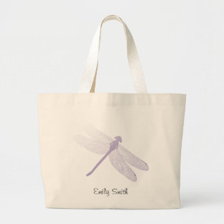 JON Tote Bag Lavender Dragonfly