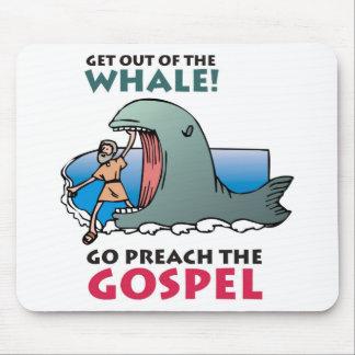 Jonah and the Wale 2 Mousepad
