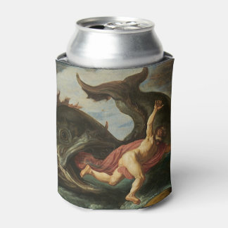"""Jonah and the Whale"" art can cooler"