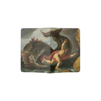 """""""Jonah and the Whale"""" Art passport cover"""