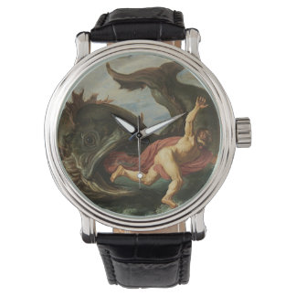 """Jonah and the Whale"" art watches"