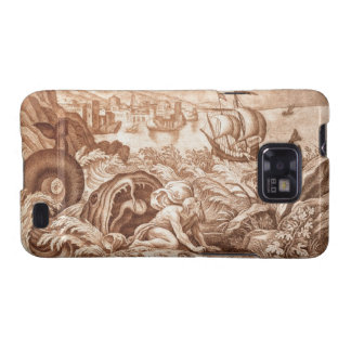 Jonah and the Whale, illustration from a Bible, en Samsung Galaxy S2 Case