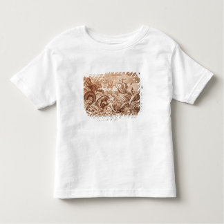 Jonah and the Whale, illustration from a Bible, en Tshirt