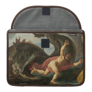 """Jonah and the Whale"" MacBook sleeves MacBook Pro Sleeve"