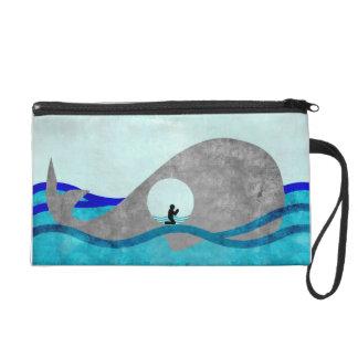 Jonah And The Whale Wristlett Wristlets
