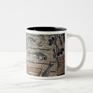 Jonah being Spat Out by the Whale, detail from a d Coffee Mugs
