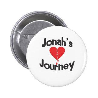 Jonah's Journey 6 Cm Round Badge