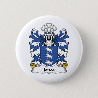 Jonas Family Crest 6 Cm Round Badge