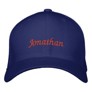 Jonathan Embroidered Cap