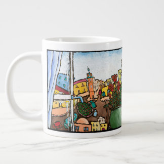 Jonathan Kis-Lev Beautiful Jaffa Jumbo Mug